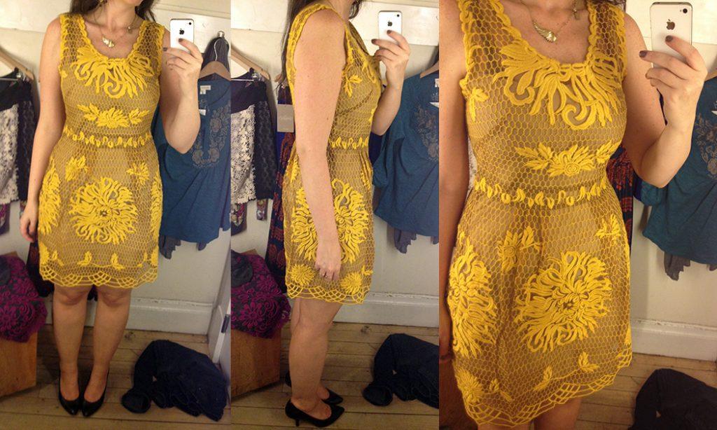 611461ac7dcf Reviews: Colorblock Lace Mini Dress, Honeycomb Lace Dress, Oxidized ...