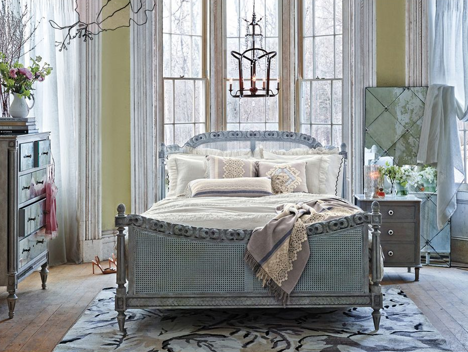 Anthropologie home lookbook images for American furniture catalog 2015