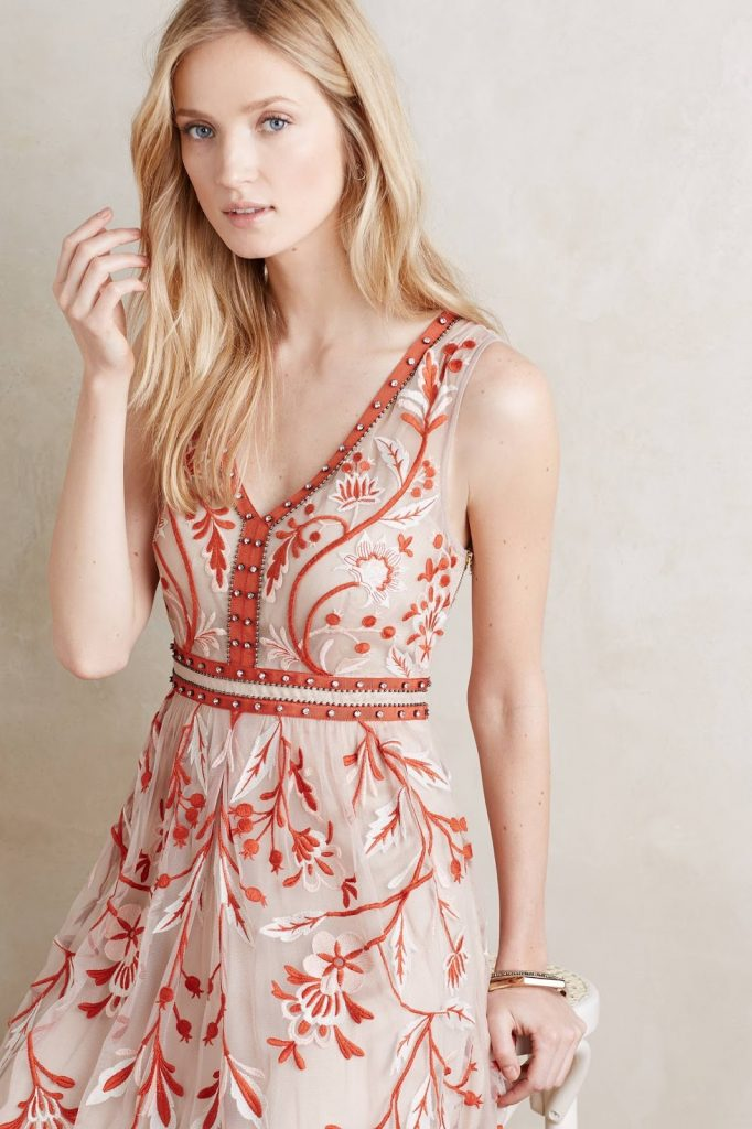 Ajna Stitched Shift / Weston Wear at Anthropologie.com
