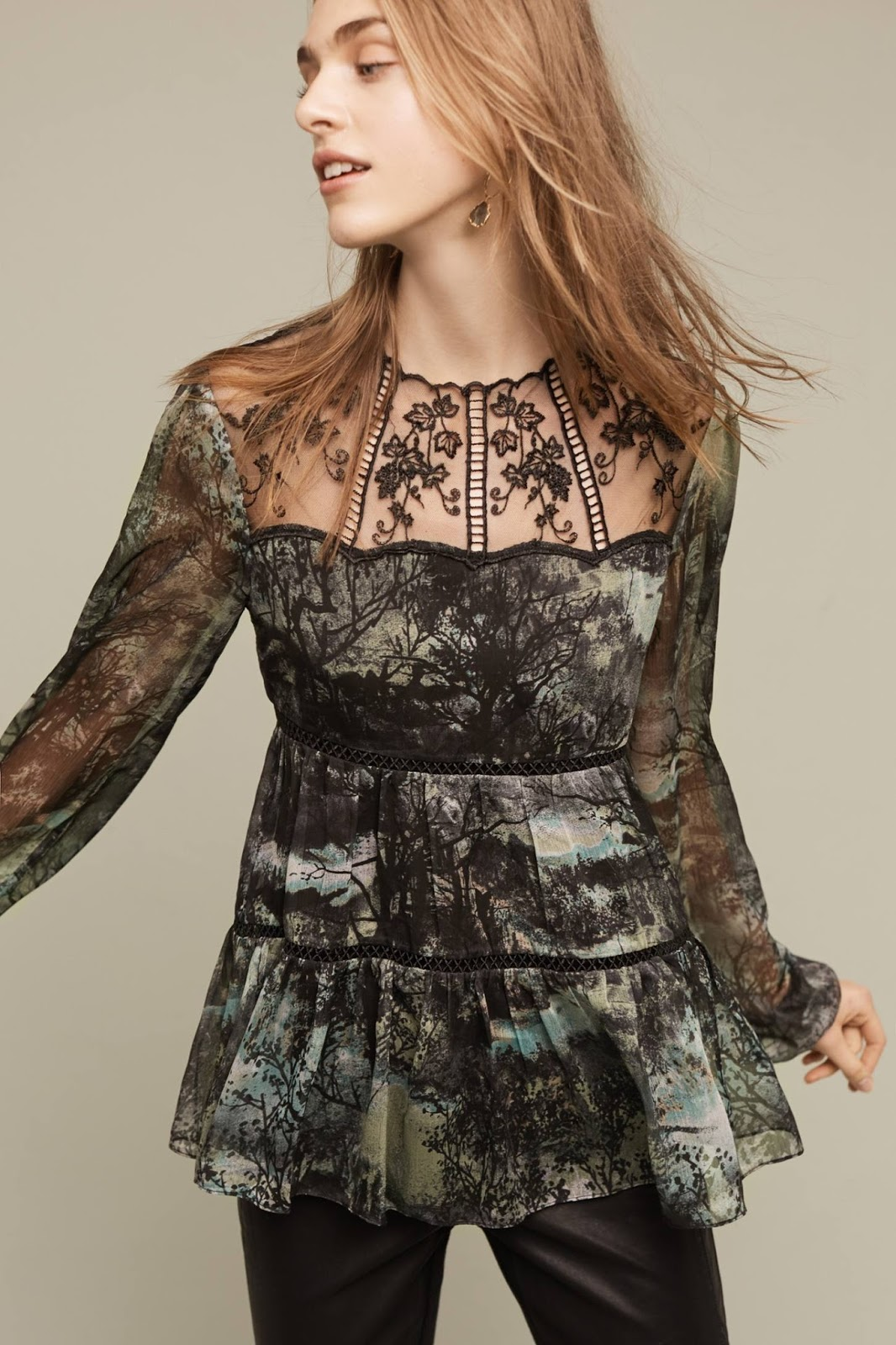 ec675c77361 Take 25% off tops and get free shipping over $150 at Anthropologie!!    Effortlessly With Roxy